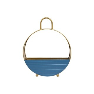 Foreside Home and Garden Kira Round Planter Small