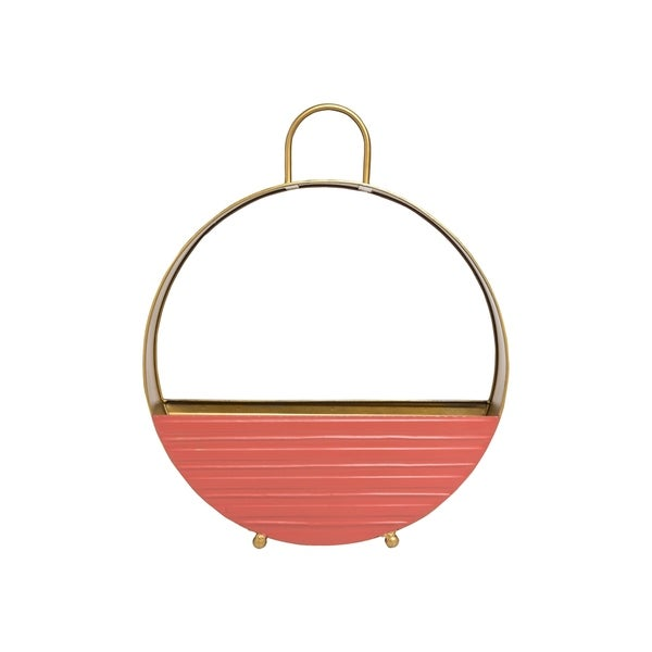 Foreside Home and Garden Kira Round Planter Large