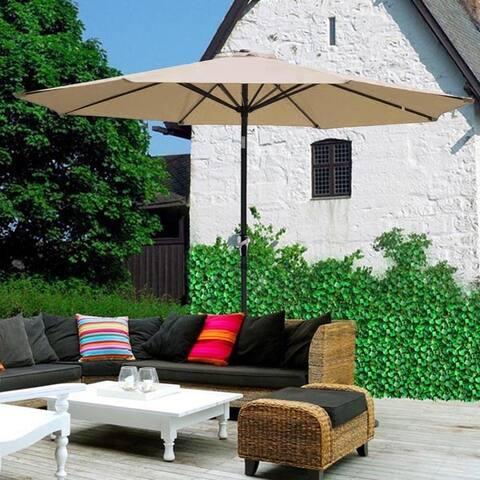 Outdoor 2.7M Hand-cranking Style Waterproof Tent Folding Sunshade