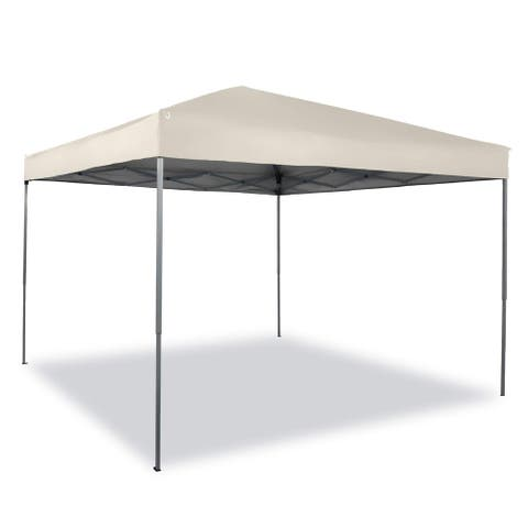 PHI VILLA 10 x 10ft Pop Up Canopy Event Tent Party Tent, 100 Sq. Ft of Shade