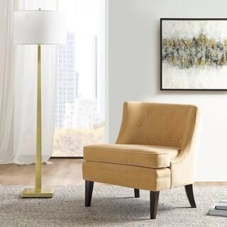 Martha Stewart  Halleck Gold Accent Chair