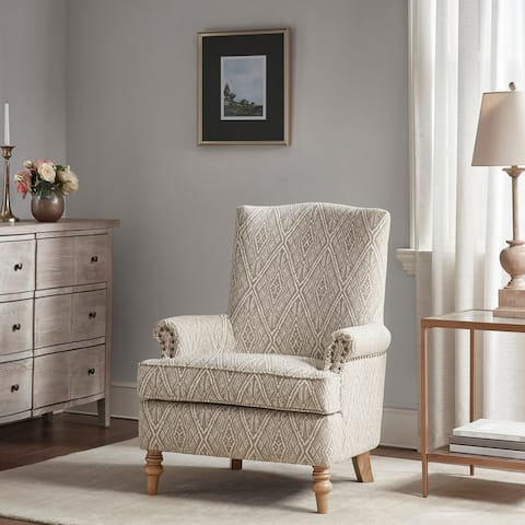 Martha Stewart Walmsley Tan Accent Chair