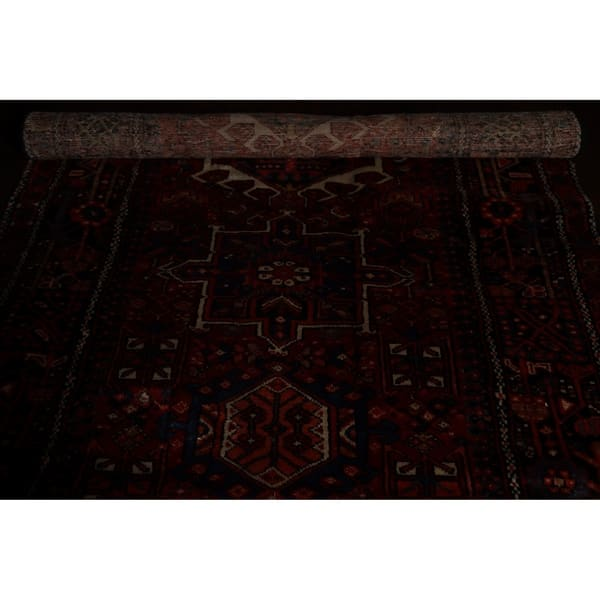 Gharajeh Persian Hand Knotted Tribal