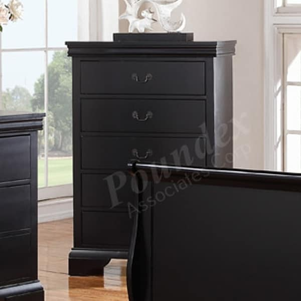 Chests of Drawers, Black