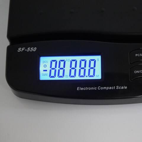 SF-550 30KG/1G High Precision LCD Digital Postal Shipping Scale Black