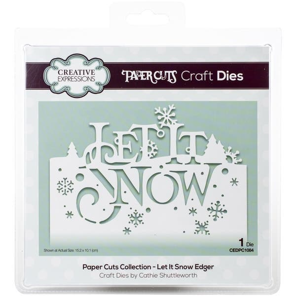 Creative Expressions Paper Cuts Craft Dies-The Holly /& The Ivy