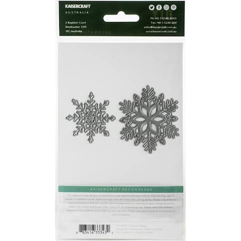 Kaisercraft Decorative Die-Snowflakes