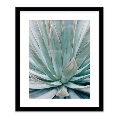 AGAVE Black Framed Giclee Print by Kavka Designs