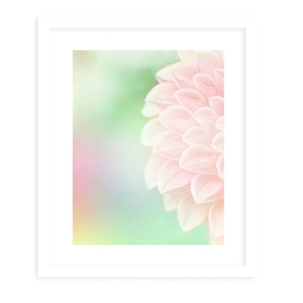BLOOM2 White Framed Giclee Print By Robin Delean