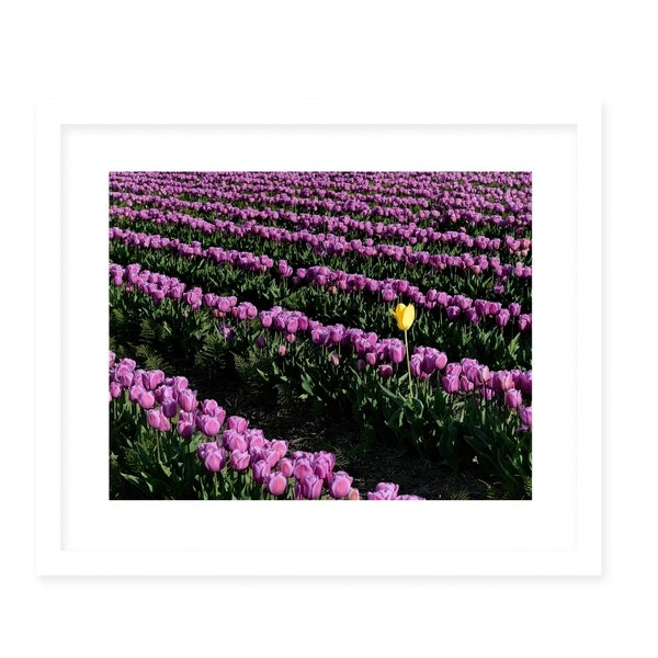 YOU'RE ONE OF A KIND White Framed Giclee Print By Robin Delean
