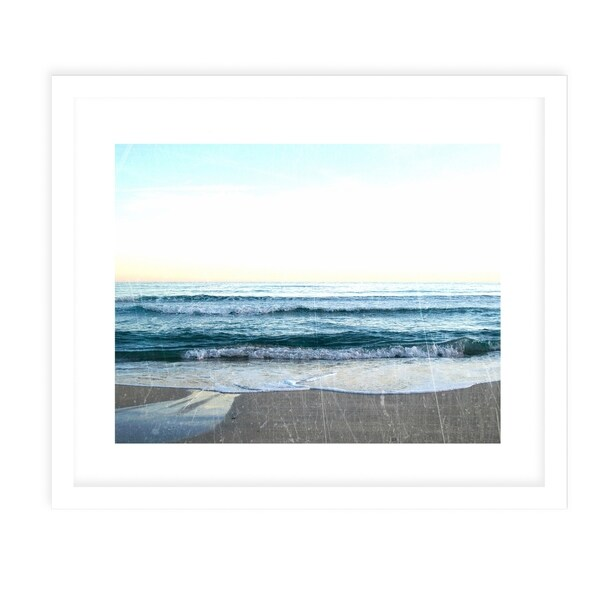 SEA VINTAGE FOUR White Framed Giclee Print By Jolina Anthony