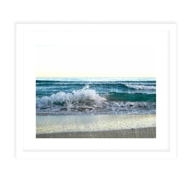SEA VINTAGE TWO White Framed Giclee Print By Jolina Anthony