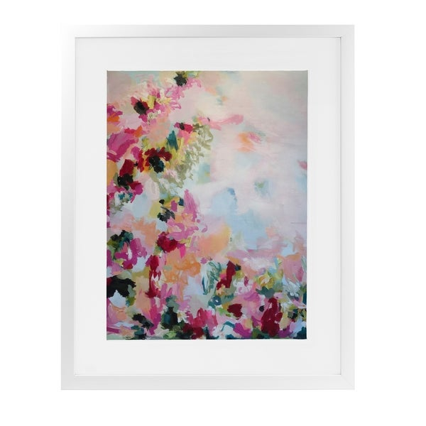 PARISIAN PANACHE White Framed Giclee Print By Susan Skelley