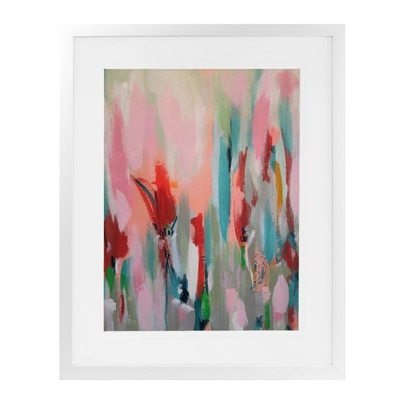TASTE BUD DREAMS White Framed Giclee Print By Susan Skelley