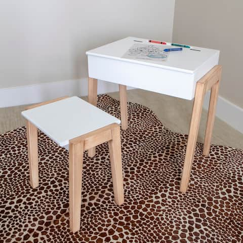 Daisy Stool and Desk Set