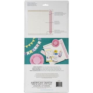 Link to We R Memory Keepers Trim & Score Board-Metric - White Similar Items in Scrapbooking Tools