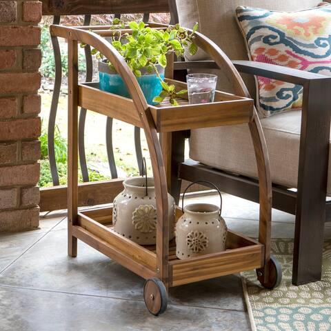 Bellamy Wood Two Shelf Tea Trolley