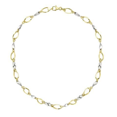 "Forever Last 10 K Gold Bonded over Silver 18"" Necklace"