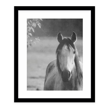 A NEW LIFE Black Framed Giclee Print By Robin Delean