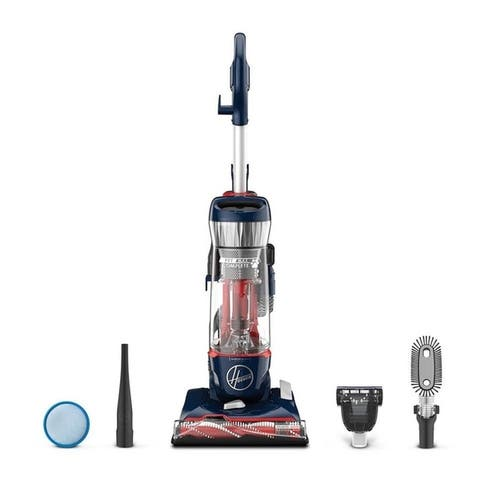 Hoover UH74110 Pet Max Complete Bagless Upright Vacuum - Blue Pearl