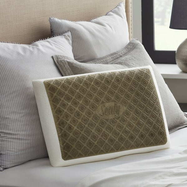 """Brand New 1 Pair of Memory Foam Cluster Pillows 24/"""" x 20/"""""""