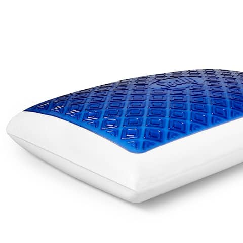 SealyChill? Gel Memory Foam Bed Pillow with Anti-Microbial Cover
