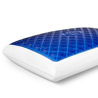 Sealy DuoChill Cooling Memory Foam Bed Pillow with Anti-Microbial Cover