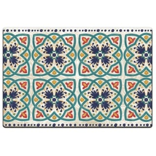 "Decorative Anti-Fatigue Floor Mats 30"" x 20"" - Boho Tile - 30"" x 20"""