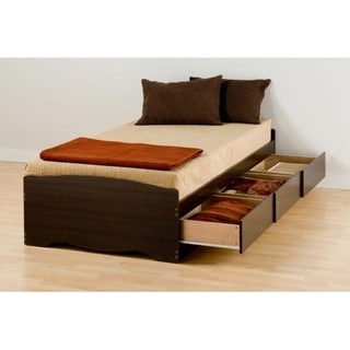 Link to Espresso Twin XL Mate's Platform Storage Bed with 3 Drawers Similar Items in Kids' & Toddler Furniture