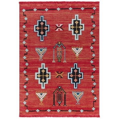 Fez Collection Modern Tribal Southwestern Area Rug by Mod-Arte