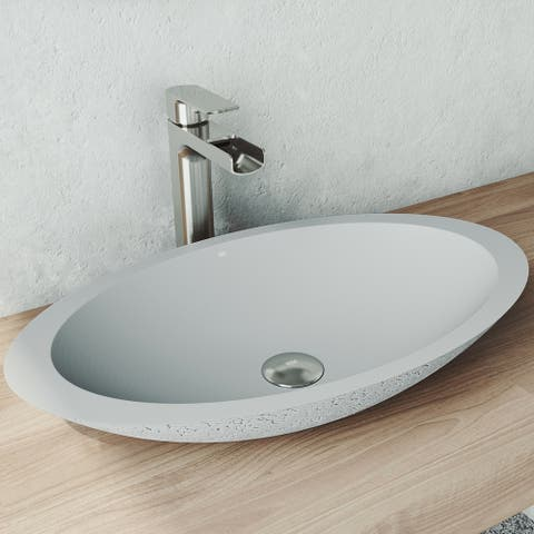Buy Grey, Vessel, 10 - 15 Inch Bathroom Sinks Online at ...