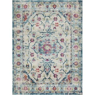 Link to Jewel Distressed Vintage Boho Area Rug by Mod-Arte Similar Items in Rugs