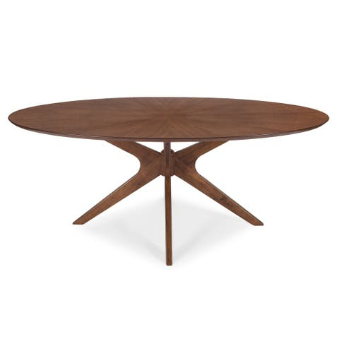 Poly and Bark Azur Oval Dining Table