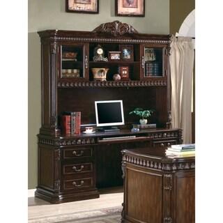 Tidwell Rich Brown 7-drawer Crezenda with Hutch