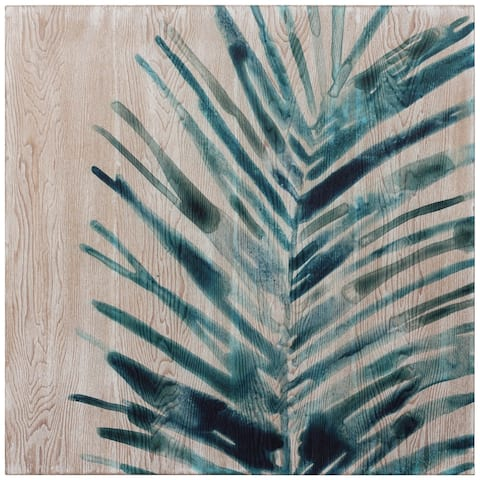 Tropical Jewell Fine Giclee Printed on Hand Finished Ash Wood Wall Art