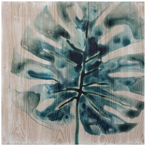 Tropical Jewell Fine Printed on Hand Finished Ash Wood Wall Art