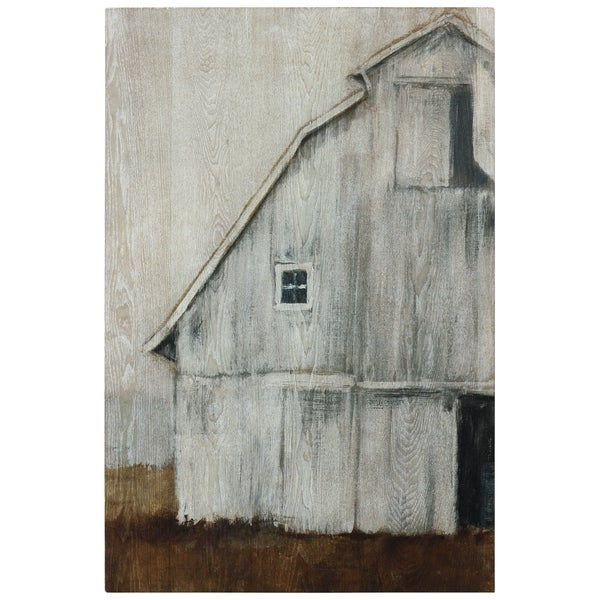 Abandoned Barn II Wall Art Fine Giclee Print on Hand Finished Ash Wood. Opens flyout.