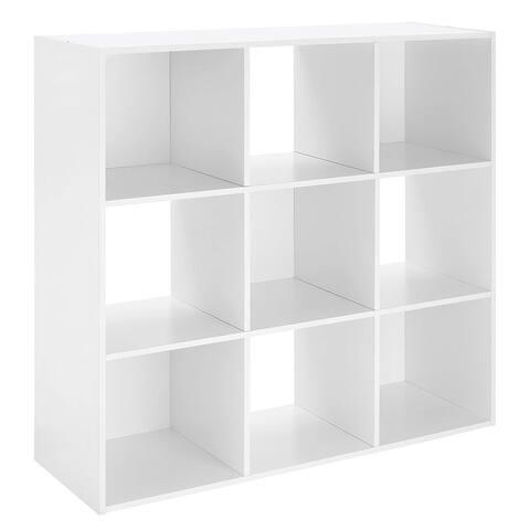 Whitmor - Wooden organizer for cubes (9 units), white 6422-8859-WHT