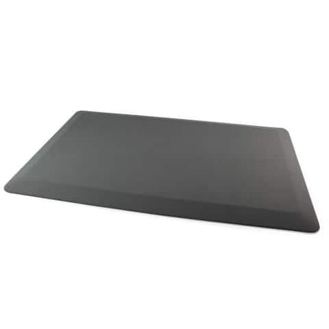 """Floortex® Gray Standing Comfort Mat - 16"""" x 24"""""""