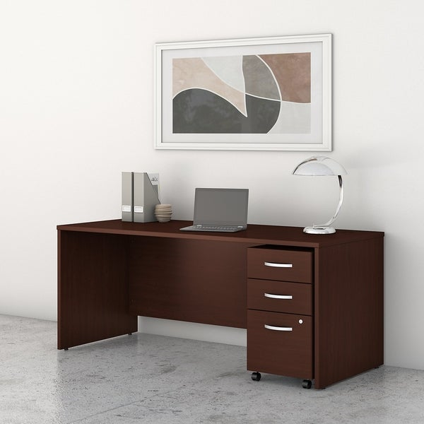 Studio C 72W x 30D Office Desk with Drawers by Bush Business Furniture