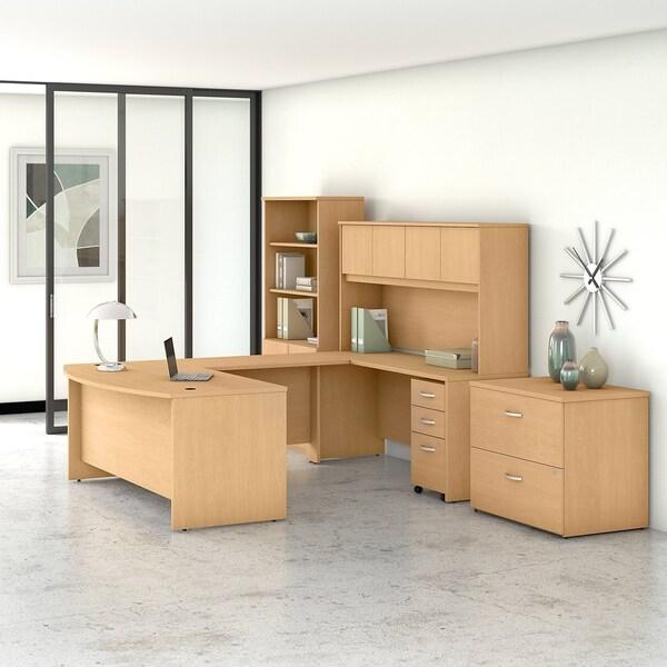 Studio C 72W U Desk with Hutch and Storage by Bush Business Furniture