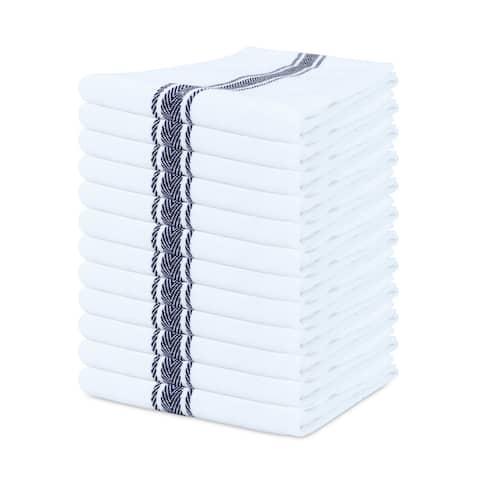 Porch & Den Bowker Herringbone Kitchen Towels (Set of 12)