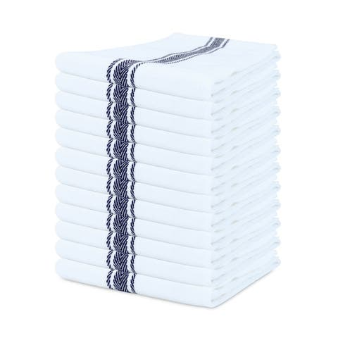 Porch & Den Bowker Herringbone Kitchen Towels (Set of 12)