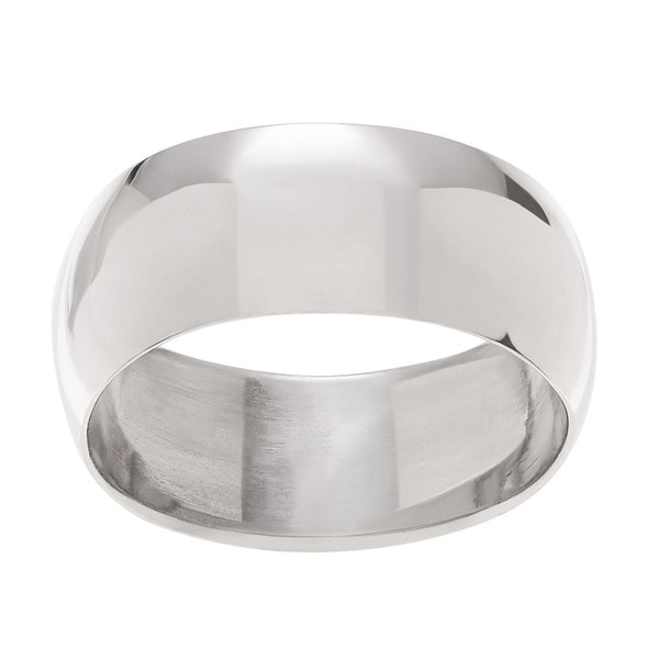 Sterling Silver Classic Polished Ring Band