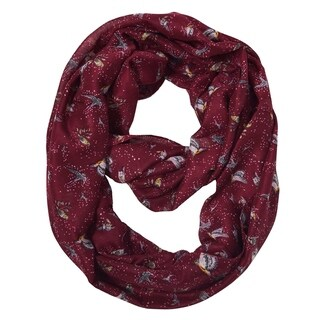Link to Sheer Bird Print Scarves For Women Infinity Scarf Circle Loops Similar Items in Scarves & Wraps