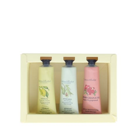 Crabtree Ultra Moisturising Hand Therapy (London) Inclues: Citron, Pomogranate and Avocado 3x25G