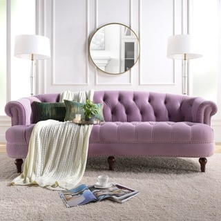 Link to Silver Orchid Bronson Velvet Sofa Similar Items in Sofas & Couches