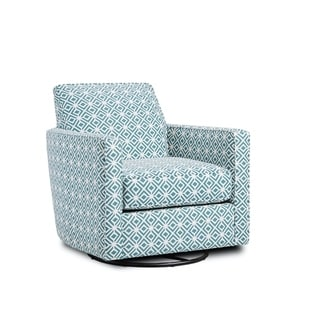 Link to Rupert Teal Swivel Glider Similar Items in Living Room Chairs