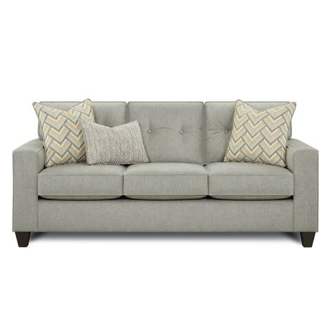 Felix Transitional Pewter Sleeper Sofa