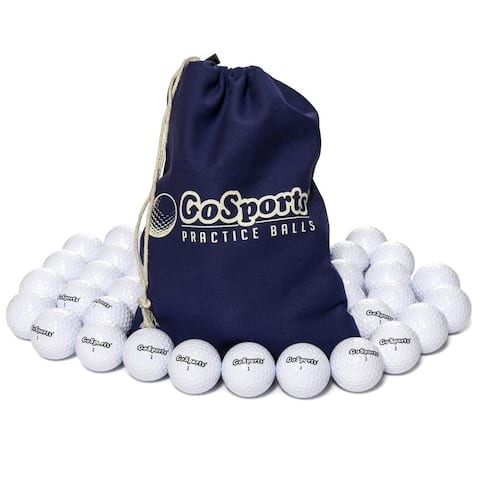 GoSports All Purpose Golf Balls for Play or Practice